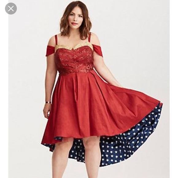 f4f31de661b3 DC Comics Dresses   Wonder Woman Formal Dress   Poshmark